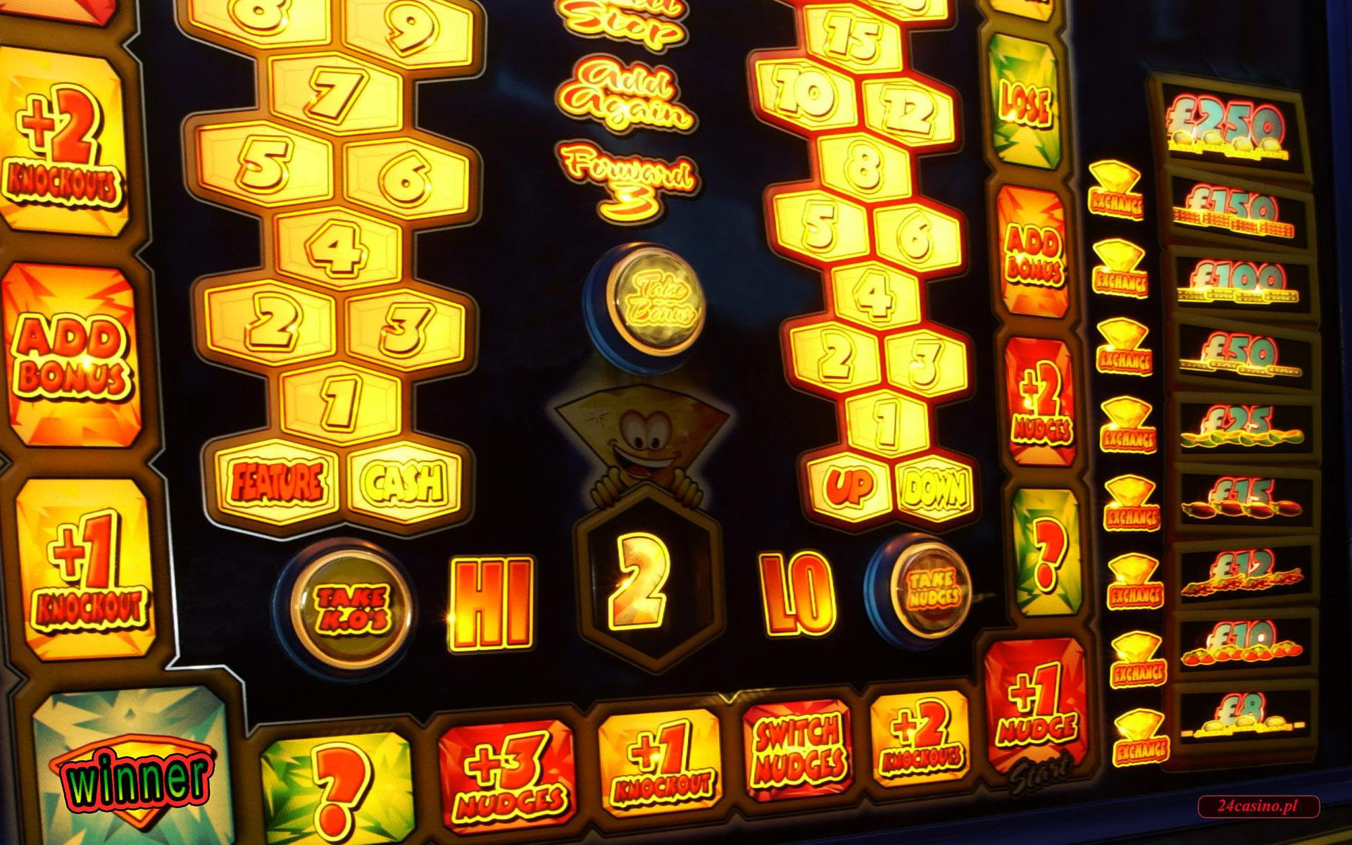gry na automatach - tapety, zdj�cia z serii casino w internecie