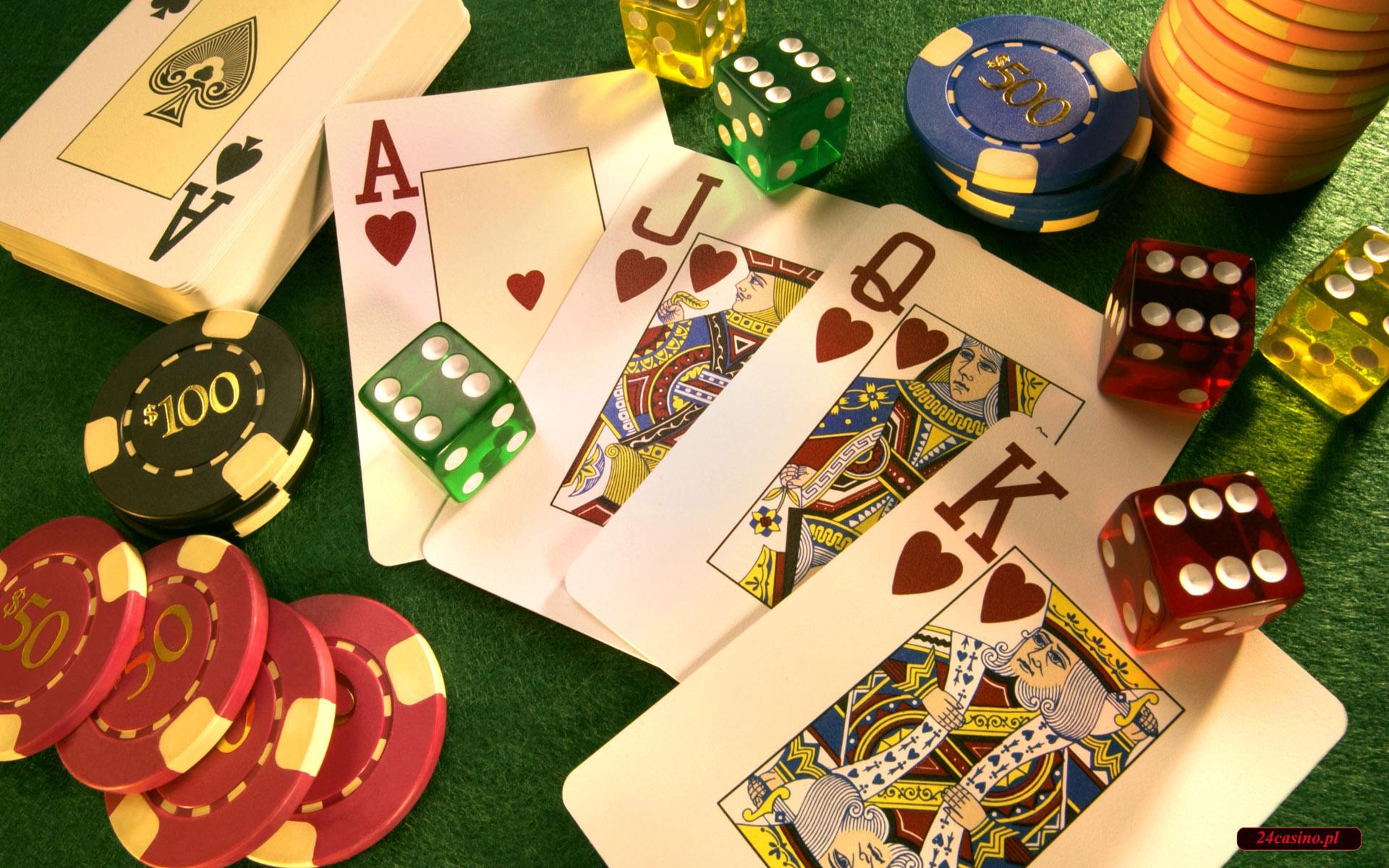 poker online - tapety, zdj�cia z serii casino w internecie